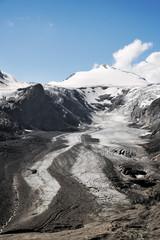 Glacier Pasterze et Grossglockner