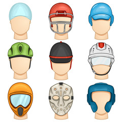 Helmet Icon - Sport