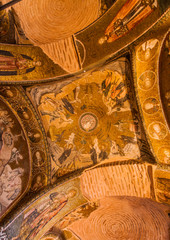 Stories of Jesus on Chora Church Ceiling