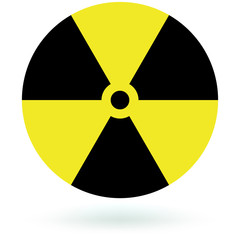 Round Nuclear Sign