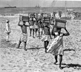 Slavery - Esclaves - Sklaven - 19th century