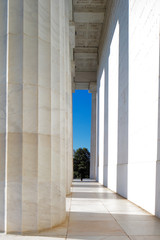 The Lincoln Memorial in Washington DC, USA