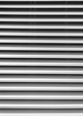 White window blind stripes