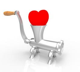 Picadora De Corazón