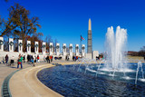The U.S. National World War II Memorial in Washington DC, USA