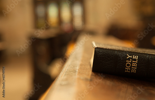 canvas print picture Holy Bible