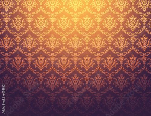 floral pattern wallpaper - 60749321