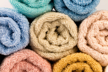 Towel isolated
