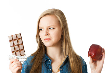 Vitamine oder Schokolade