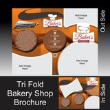 Tri Fold Bakery Shop Brochure