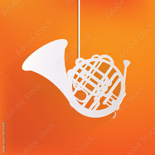 Music wind instruments icon