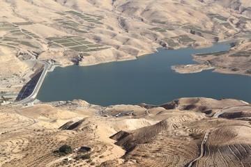 Wadi el Mujib Dam and Lake, Jordan
