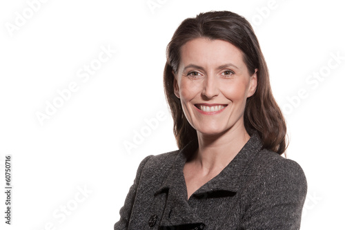Portrait of mature businesswoman