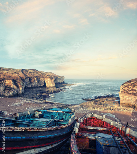 fishing boats flamborough