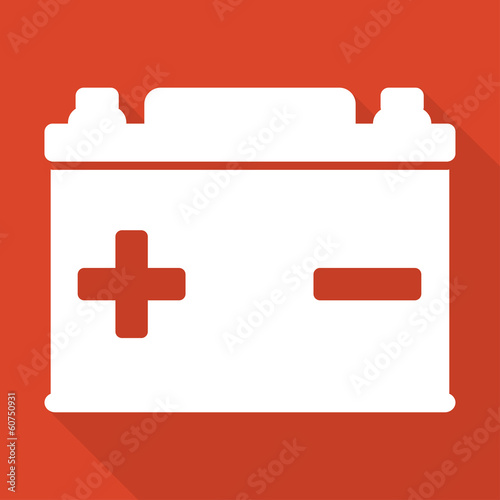 Car battery icon - 60750931