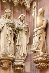 statues de la collégiale Saint-Thiébaut, Thann