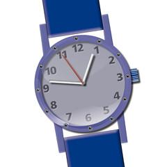 Zeit_Uhr_Armbanduhr_Zeit zu gehen_Uhrzeiger