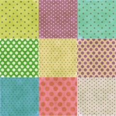 polka dot seamless pattern