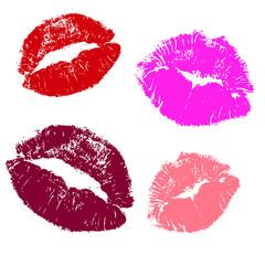 Kisses .