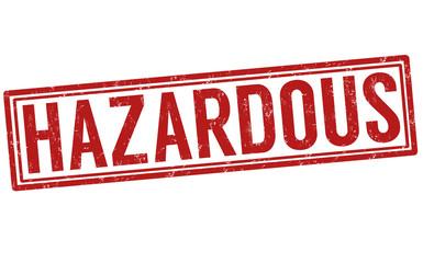 Hazardous stamp