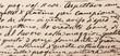 Leinwanddruck Bild - antica calligrafia