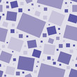 Seamless pattern with rectangles and squares