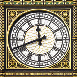Close-up of Big Ben, Clock Tower, Westminster Palace, London