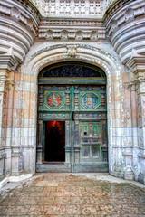 Porte du château de Chenonceau