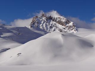 Pointe de Calabre (Roc du Fond) 3350m depuis le Val de Rhêmes
