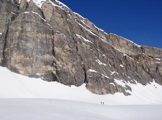 Ski de randonnée au pied de la Granta Parei (Val de Rhêmes)
