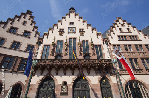 Historical Town Hall of Frankfurt