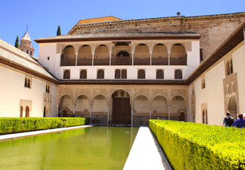 Patio in Alhambra