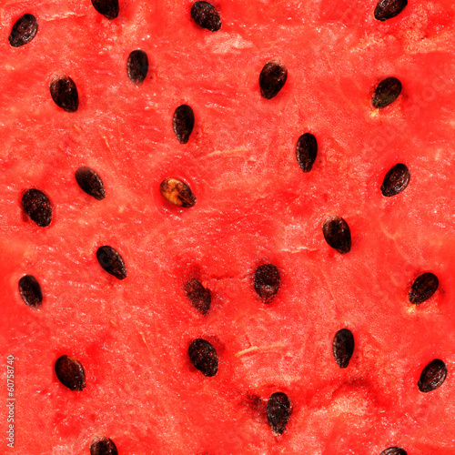 Seamless texture of watermelon