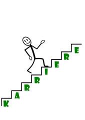 Weg zur Karriere