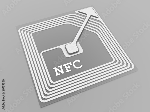 NFC technology sign - 60759340