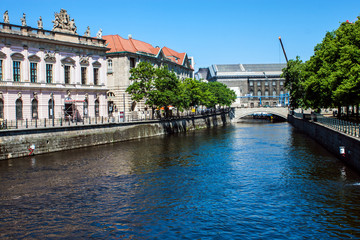 Canal in Berlin, Germany