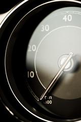 Tachometer detail