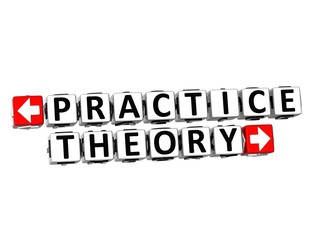 3D Practice Theory Button Click Here Block Text