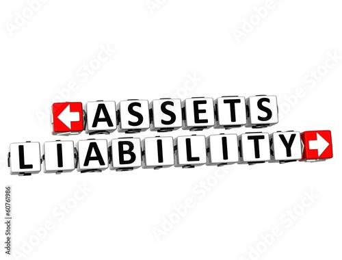 3D Assets Liability Button Click Here Block Text
