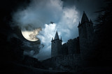 Mysterious medieval castle - Fine Art prints