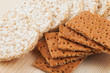 grain Crispbread cracker