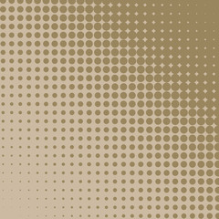 Beige diagonal halftone diagonal background