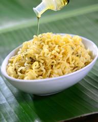 Instant noodles bowl