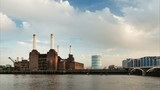 Battersea Power Station Time Lapse, Panning
