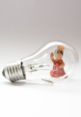 Flamenco light bulb