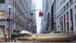 Timelapse Manhattan Downtown streets