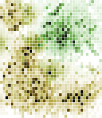 Abstract mosaic background design