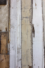 old broken wood wall background