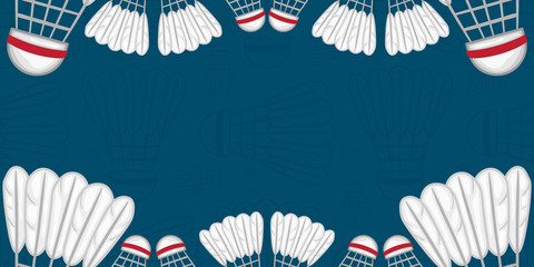 Background of Badminton - Sport