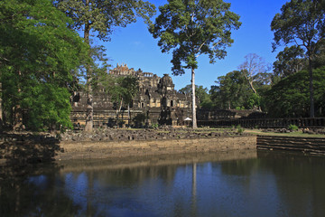 Ancient Ruins In The Jungle, Angkor Wat Cambodia
